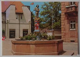ETTLINGEN I. Baden - Marktplatzbrunnen - Nv  G2 - Ettlingen