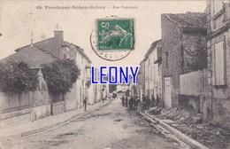 CPA De FRONTENAY-ROHAN-ROHAN (79) - RUE PRINCIPALE N° 104 - ANIMATIONS - Frontenay-Rohan-Rohan