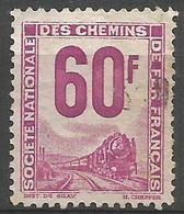 France - 1946-54 Parcel Post 60f Fine Used - Parcel Post