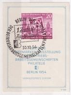 DDR 1954  BLOC Mi  N° 10 - Blocchi