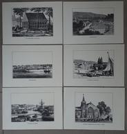 Lot De 10 Reproductions De Gravures De Bretagne. 15 X 23 Cm - Estampes & Gravures