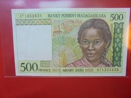 MADAGASCAR 500 FRANCS 1994 PEU CIRCULER (F.1) - Madagascar