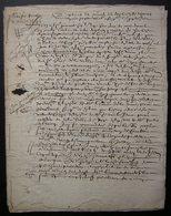 1646 Document De 20 Pages Manuscrites Et Imprimées Succession Jean Charmolüe Et Perrette Royauté à Crépy En Valois - Manuscripts