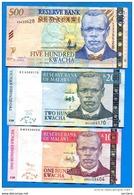 Malawe  9  Billets - Malawi