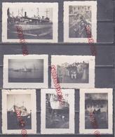 Classe Chasseur 1 Gouvernement Vichy Immatriculation W 34 Cale Sêche équipage Vaguemestre ... Dakar 1942 - 1939-45
