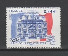 FRANCE / 2007 / Y&T N° 4028A ** Ou AA 117 ** : Cour Des Comptes (adhésif) - état D'origine - France