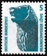 Timbre-poste Gommé Neuf** - Série Courante Curiosités Le Lion De Brunswick - N° 1280 (Yvert) - RFA 1990 - Ungebraucht