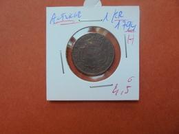 """AUTRICHE 1 KREUZER 1794 """"H"""" (A.7) - Austria"""