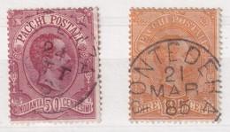 ITALIE UNIFICATO COLIS POSTAL 3 + 5 - 1878-00 Humbert I.