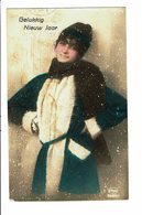 CPA - Carte Postale -Pays Bas-Gelukkig Nieuw Jaar  1924-VM3815 - Nieuwjaar