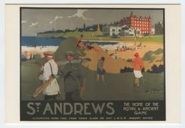 PUBLICITE : ST Andrews Golf - Reclame