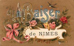 Nimes     Un Baiser - Nîmes