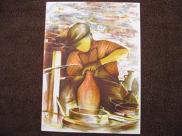 Lithographie Originale De Raymond Poulet Né En 1934 Non Signee: Le Potier (Poterie, Terre Cuite) - Estampes & Gravures