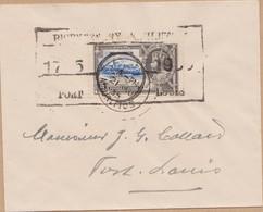 ENVELOPPE TIMBRE 1935  MAURITIUS   A FORT LOUIS VOIR CACHETS - Mauritius (1968-...)