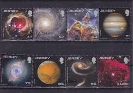 Jersey :images Faites Par Le Télescope Hubble : Lot Oblitéré - Jersey