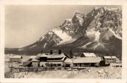 Bahnhof Ehrwald - Blick Auf Zugspitze Und Wettersteinmassiv * 9. 3. 1929 - Ehrwald
