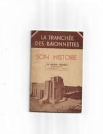 Livret Ancien La Tranchée Des Baionnettes - War 1914-18