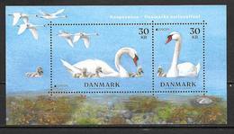 Danemark 2019 Bloc Neuf Europa Oiseaux Cygnes - Blocs-feuillets