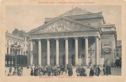 CPA - Belgique - Brussels - Bruxelles - Théâtre Royal De La Monnaie - Monuments, édifices
