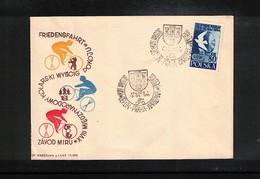 Polen / Poland 1965 Cycling Berlin - Praha - Warszawa  Interesting Cover - Radsport