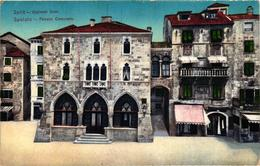 Croatia, Split, Spalato, Opcinski Dom, Palazzo Comunale, Old Postcard - Croatia