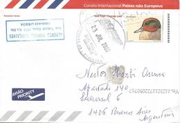 Portugal 2003 Lisboa Duck Postage Paid Overseas Postal Stationary Cover - Entiers Postaux