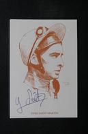 FRANCE - Autographe De Yves St Martin Sur Carte Postale - L 32853 - Autographes