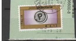 REPUBBLICA - Prioritario 4,13 Euro 1v. Usato Perfetto - 6. 1946-.. Repubblica
