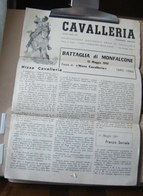 MONDOSORPRESA, (MT1) GENNAIO/APRILE  1960, GIORNALE CAVALLERIA ASSOCIAZIONE ARMA DI CAVALLERIA, , MILITARIA - Zeitungen & Zeitschriften