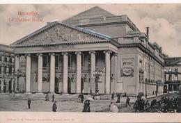 CPA - Belgique - Brussels - Bruxelles - Théâtre Royal De La Monnaie - Relief - Monuments, édifices