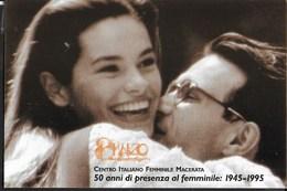 8 MARZO 1995 - FESTA DELLA DONNA - 50° CIF - NON VIAGGIATA - Eventi