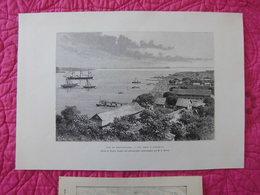 Diégo-Suarez(Madagascar) : Quatre Documents Anciens Sur La Baie Et Les Quais - Documents Historiques