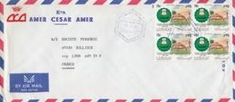 Lettre COVER LIBAN AMER CESAR AMER POUR LA FRANCE  / 2 5 19 - Liban