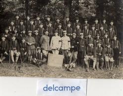 Carte - Photo Authentique -  48éme Régiment D' Infanterie - GUINGAMP -  Classe 1918 - Krieg, Militär