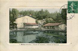 A VOIR ! BELIET 1908 MOULIN DE JEANMINE COLONIS DE VACANCES THEMES GIRONDE BELIN - Non Classés