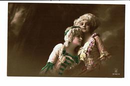 CPA - Carte Postale -Belgique -Deux Jeunes Dames En Costume D'époque -VM3823 - Women