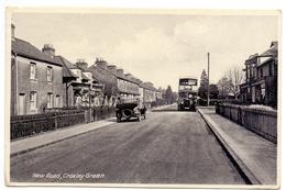 CP - Carte En Esperanto - New Road , Croxley Green , Rickmansworth Herts - Verstuurd Naar Oostende 1951 - Angleterre