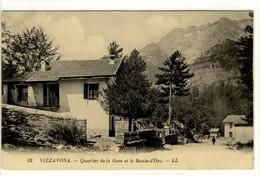 Carte Postale Ancienne Vizzavona - Quartier De La Gare Et Le Monte D'Oro - France