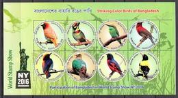 BIRDS - 2016 - BANGLADESH -  Mi.. Nr.  1174/1181 - NH - (CW4755.29) - Bangladesh