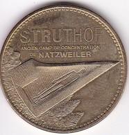 Médaille Souvenir Ou Touristique > NATZWEILER - Struthof  (Ancien Camp De Concentration) Dia. 34 Mm - 2013