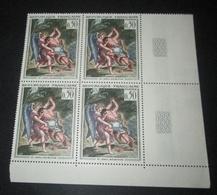 Timbre FRANCE NEUF ** N° 1376 TABLEAU De DELACROIX BLOC DE 4 - Sheetlets