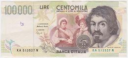 Italy P 117 A - 100000 100.000 Lire 6.5.1994 - Fine+ - [ 2] 1946-… : Repubblica