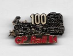 Pin' S  SNCF, 100  CP Rail - TGV