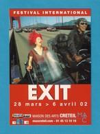 CPM.   Cart'Com.   Festival International EXIT à Créteil. - Spectacle