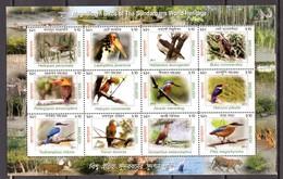 BIRDS - 2011 - BANGLADESH -  Mi.. Nr.  1057/1068 - NH - (CW4755.30) - Bangladesh