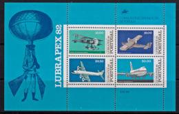 A1603 PORTUGAL 1982, SG MS1900  Lubrapex '82, Portugeses-Brazilian Stamp Exhibition, MNH - 1910-... República