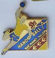 C80 Pin's HANDBALL SLUC NANCY Meurthe Moselle Qualité Egf Achat Immediat - Handball