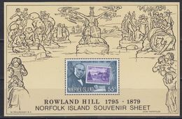 Norfolk Island 1979 Sir Rowland Hill M/s  ** Mnh (43261) - Norfolk Eiland