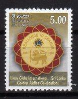 Sri Lanka 2007 Lions Club International MNH - Sri Lanka (Ceylon) (1948-...)