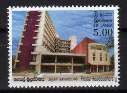 Sri Lanka Stamps 2005, Postal Headquarters, Postbox MNH - Sri Lanka (Ceylon) (1948-...)